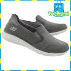 BRAND NEW Skechers 12182 Go Walk Womens Casuals slip on shoes grey MEMORY FOAM