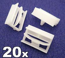 20x BMW SERIE 3 SIDESKIRT clip in plastica-Staffa di plastica per davanzale rifinitura