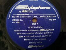 "ROLF HARRIS * STYLOPHONE BY DUBREQ * 7"" SINGLE VERY GOOD"