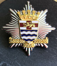 LONDON FIRE BRIGADE CAP BADGE.LCC