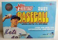 2021 Topps Heritage MLB Baseball MegaBox -Target Exclusive- Brand New & Sealed!