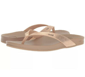 Reef Cushion Bounce Court Sandals - Women's - 11 Rose Gold NWT