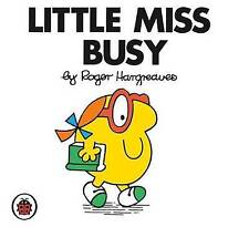 *BRAND NEW* LITTLE MISS BUSY by ROGER HARGREAVES (Toddler book, Little Miss)