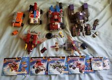 Transformers Armada 2003 BUILT TO RULE Lego Mixed Lot