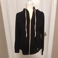 Torrid Women's Knockout Black Zip Hooded Jacket Size 1