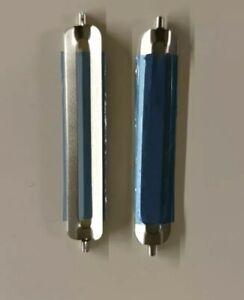 Tupperware 2x D119 oder D82 Schälfix Schäler Ersatz Ersatzklingen glatt-glatt