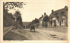 Wootton Bassett. High Street in RA Series for H.Gittins, High Street, W~ B~. Pub