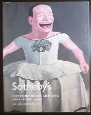 Auction Catalogue Sotheby's NY Contemporary Art Asia China Korea Japan 9/20/07