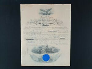 USA Theodore Roosevelt Jr. Signed Document Appointment Commission US Navy USN