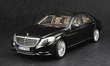 Mercedes S-class S600 W222 black 1:18 Norev