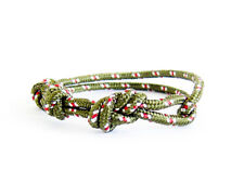 Rope Para Cord Cuff Infinity Knot Mens Indian Jewelry Bracelet Ethnic American