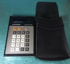 Calculator Vintage Lloyds Accumatic 305 Has Case Works Rare