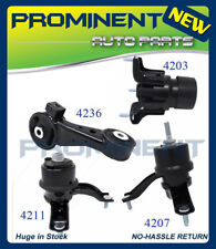 Motor Mounts 4 Replacement for 2002-2006 Toyota Camry 3.0L V6 Auto