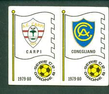 Figurina Calciatori Panini 1979-80 N.547! Carpi/Conegliano! Nuova da Bustina!!