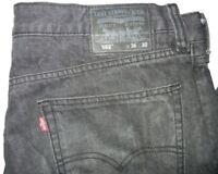 Levis 562 Loose Tapered 36 W x 30 L  Black