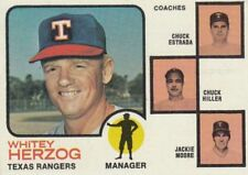 Topps Texas Rangers Not Authenticated Baseball Cards