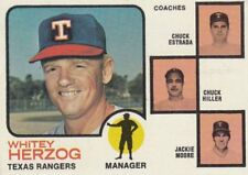 Topps Texas Rangers Not Autographed Baseball Cards