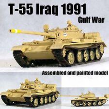 Iraq army T-55 Russian MBT tank gulf war 1991 desert 1/72 no diecast Easy Model