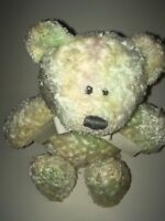 "Animal Adventure Baby Adventure Green Bear 9"" Plush Stuffed Animal"