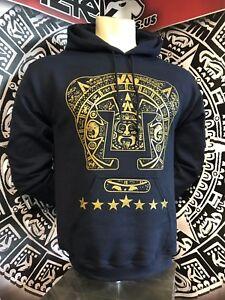 Pumas UNAM Hooded Sweatshirt Sudadera Calendario Azteka Futbol Soccer all sizes