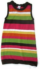 Gymboree Fall For Autumn Striped Sweater Dress Size 6 Girls Green Pink Brown