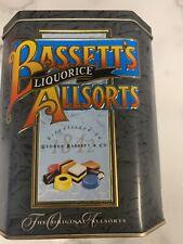Collector's Bassett's Liquorice The Original Allsorts Candy Advertisement Tin