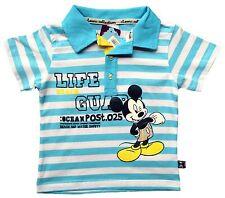 Neu! Disney Mickey Mouse Poloshirt T-Shirt Shirt Baumwolle Gr.92