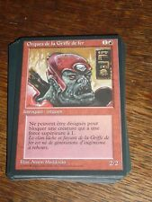 MTG Magic the Gathering ORQUES DE LA GRIFFE DE FER Renaissance French RARE TOP