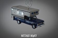 '67 Dodge D100 Camper Vintage Style Chevrolet Truck Ornament RV Pop up D-100