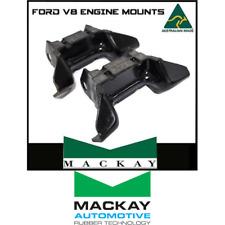 2 X MACKAY FORD V8 ENGINE MOUNTS XR XT XW XY XA XB XC XD XE CLEVELAND & WINDSOR
