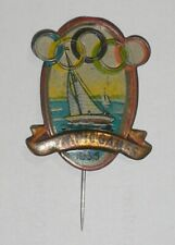 1956 OLYMPIC GAMES MELBOURNE AUSTRALIA Olympics Sport Pin Yachting VERY RARE!!!!