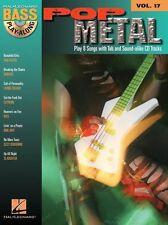 Pop Metal Bass Guitar TAB Learn to Play Bon Jovi Kiss Music Book & CD