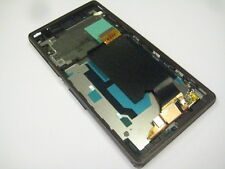 LCD display+touch screen+Frame Fit Sony Xperia Z C6602 C6603 L36H LT36i (Purple)