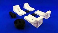 Liferaft Fuel Tank Deck Chocks Mounting  Kit With Straps Boat Yacht  QS3