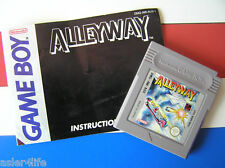 ALLEYWAY + INSTRUCTION BOOKLET - GAME BOY - GB