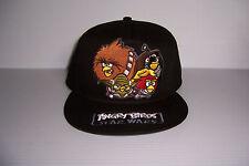 ANGRY BIRDS STAR WARS SNAPBACK HAT CAP ADJUSTABLE NWT!