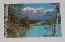 Canada - Canadian Rockies - Mount Robson And Berg Lake - Old Postcard