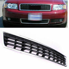 Car Front Chrome Bumper Center Lower Grille Grill For 2002-2004 Audi A4 B6 Sedan