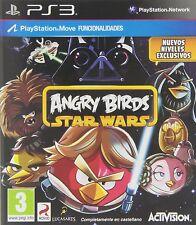 ANGRY BIRDS STAR WARS. JUEGO PS3. NUEVO, PRECINTADO. PAL-ESP.