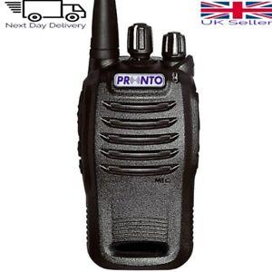 Pronto P-4100 VHF Professional Licenced Two Way Radio/Walkie Talkie