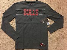 NWT NBA UNK Chicago Bulls Long Sleeve Thermal Shirt Men's  S MSRP $35