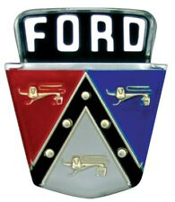 1950 1951 1952 1953 1954 Ford Passenger Trunk / Deck Lid Emblem Plastic