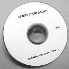 25 MP3 AUDIO BOOKS ON 1 DVD. THINK AND GROW RICH Plus Many More.