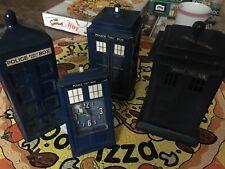 More details for dr who money box tardis and alarm clock job lot 1 metal 1 plastic 1 ceramic