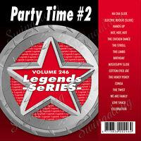 KARAOKE CD+G LEGEND SERIES PARTY TIME #2 VOL-246 NEW In Vinyl w/Print