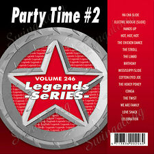 KARAOKE CD+G LEGEND SERIES PARTY TIME #2 VOL-246 NEW In Vinyl w/Print