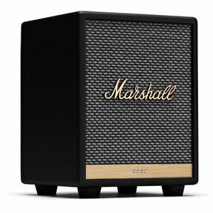 Marshall Uxbridge VOICE Google Bluetooth Lautsprecher, schwarz Partylautsprecher