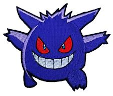 GENGAR Pokemon Go Patch Embroidered Iron on Badge Costume Patches Mewtwo Eevee