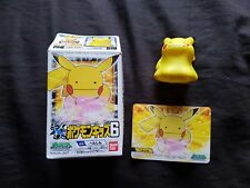 PIKACHU Japanese Pokemon 1 Inch Figure Bandai Gamefreak 2007