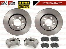 FOR Skoda Octavia 1.8 Turbo VRS RS Rear Brake Calipers Pair with discs & Pads